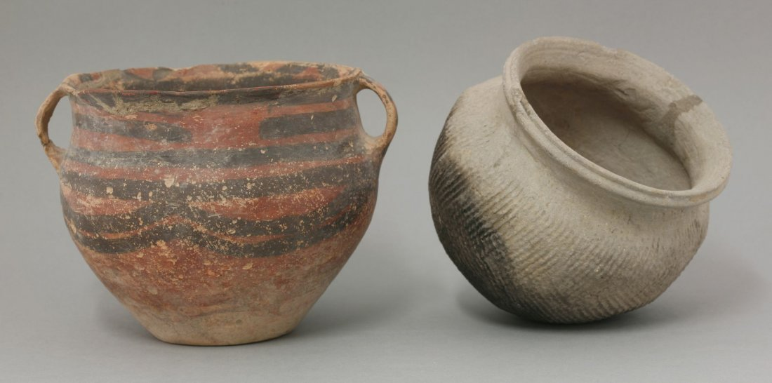 Two earthenware Bowls,  AFCprobably Han dynasty (206BCE