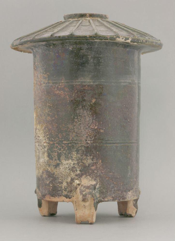 A pottery Granary,  AFCHan Dynasty (206 BCE - 220 CE),