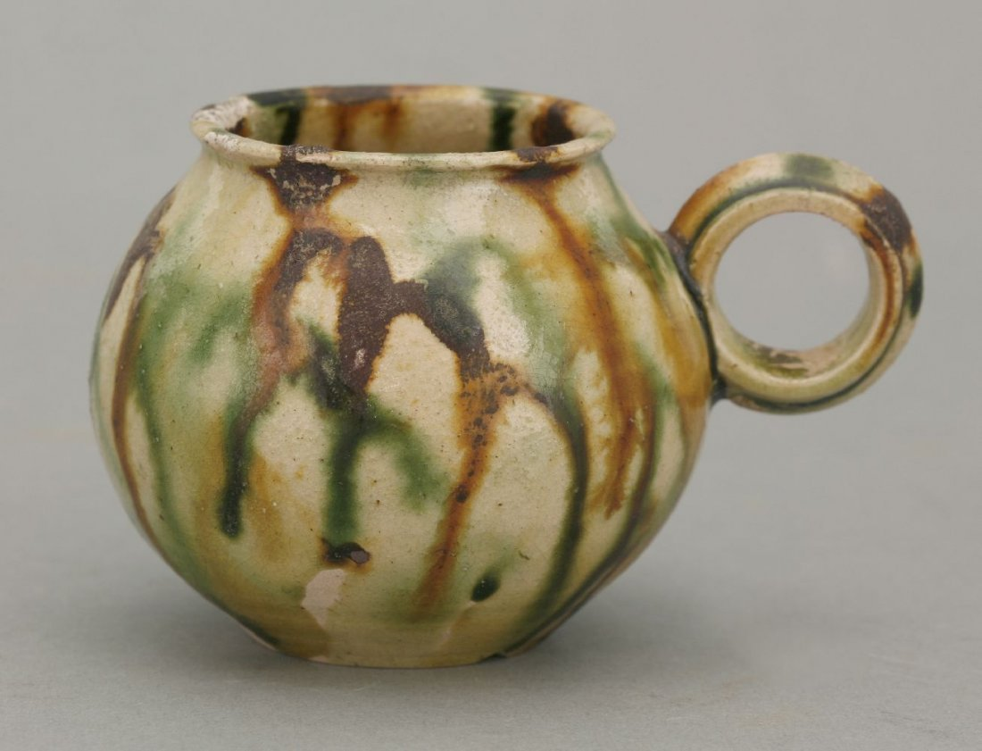 A small Cup, Tang dynasty (618-906), the globular body