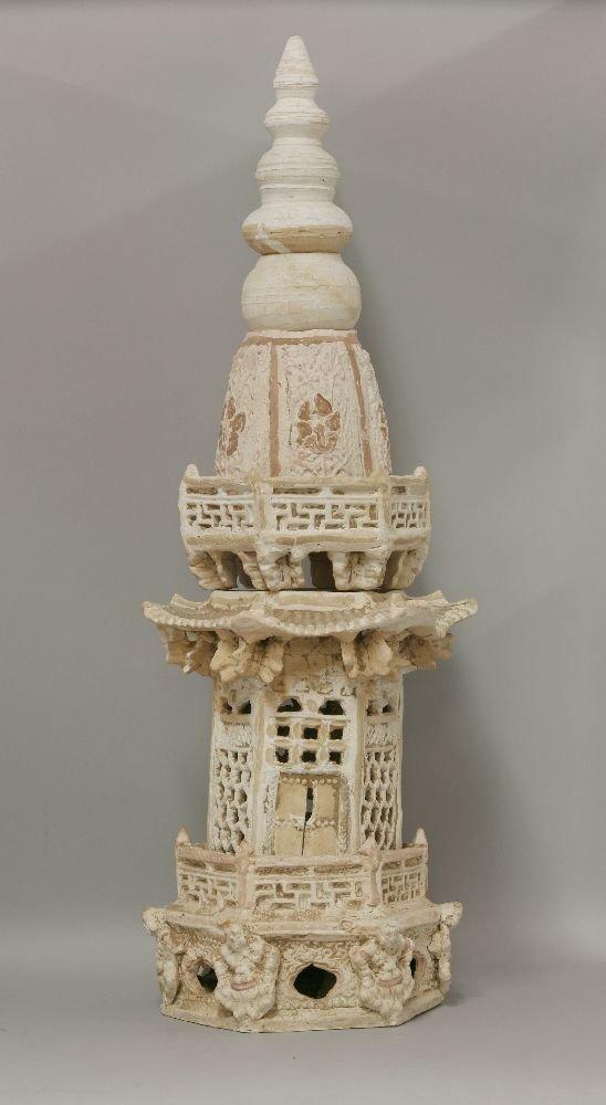 A Part Pagoda,  AFCLiao dynasty (916-1125), the sides