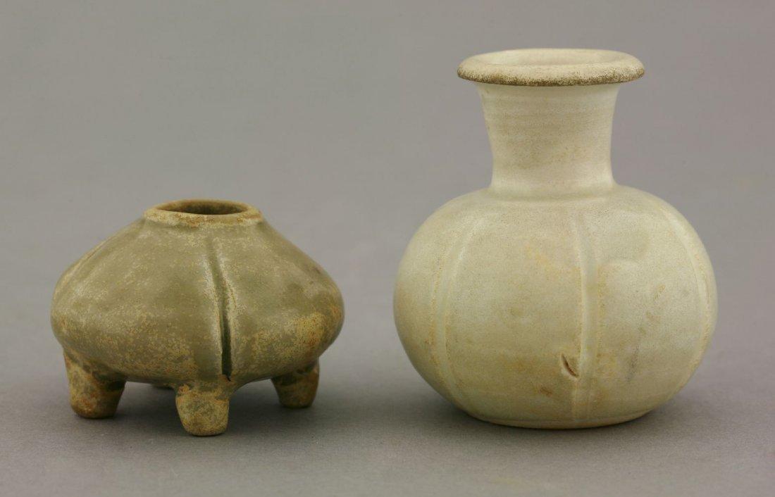 A miniature Qingbai Vase,  AFCNorthern Song dynasty