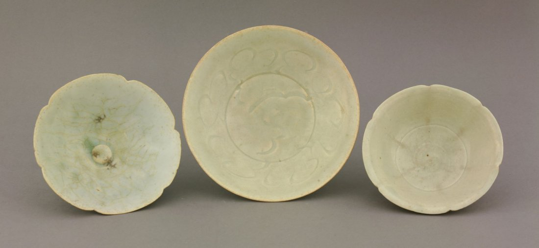 Three Qingbai Bowls,  AFCSouthern Song dynasty