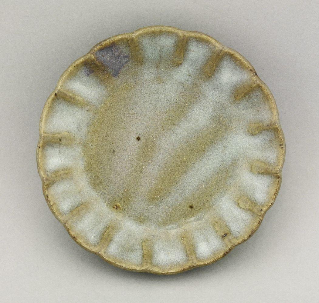 A small Junyao Dish, Yuan Dynasty (1279-1368), of