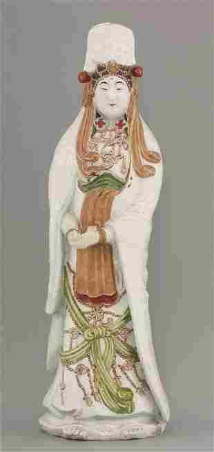 An Arita Kwannon, early 20th century, the goddess