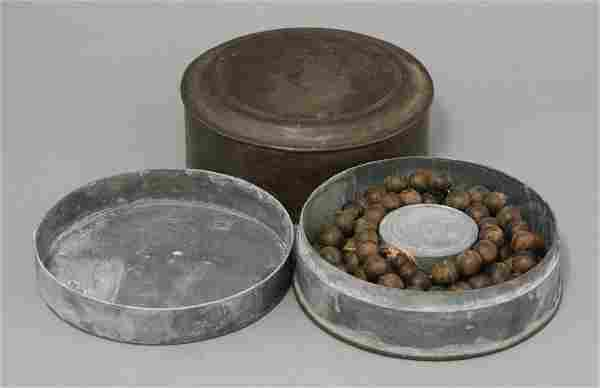 A string of aloeswood beads, with chenxiang wooden