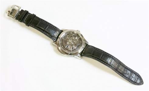 A gentlemen's titanium Jaeger-LeCoultre Master Minute