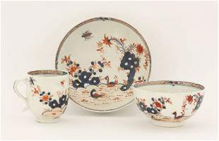 Lowestoft Redgrave Pattern,c.1760, a Coffee Cup and