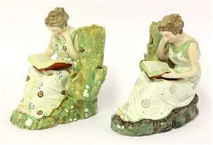 A pair of Staffordshire pearlware Figures of