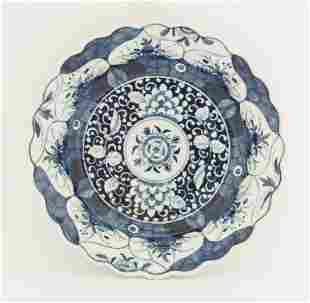 A Worcester blue and white Bowl, c.1770-1775, painted