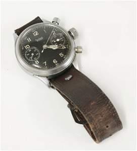 A gentlemen's German Hanhart WW2 Heer Kriegsmarine and