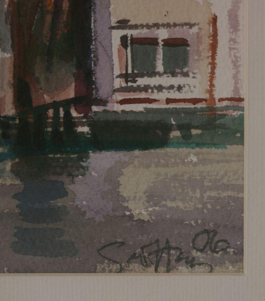 *Geoffrey Humphries (b.1945) A VENETIAN CANAL Signed - 3