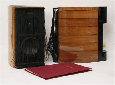 A pair of Sonus Faber 'Guarneri' speakers, c.1995, in