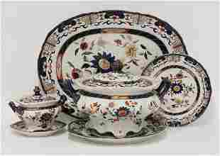 An extensive Mason's ironstone Dinner Service, with a
