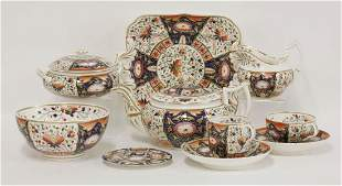 A Bloor Derby 'Imari' pattern tea and coffee service,