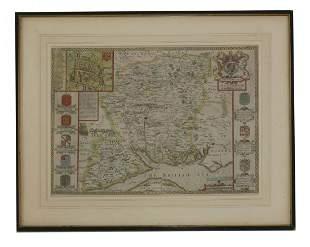 John Speede, 'Hantshire Described and Devided Solde in