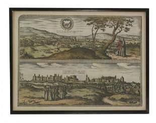 Georg Braun and Franz Hogenberg, 'Londinum Feracissimi