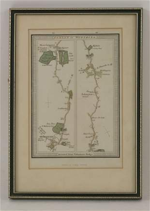 John Ogilby, The Continuation of the Road from London