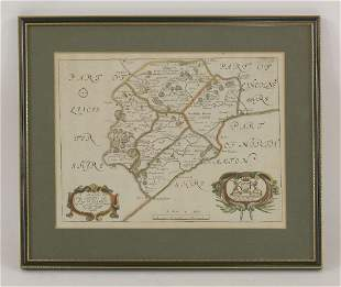 R Blome, A Mapp of the County of Rutland with its