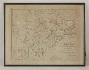 Comitatus Rotelandiae, Tabula Nova & Aucta, sold by A