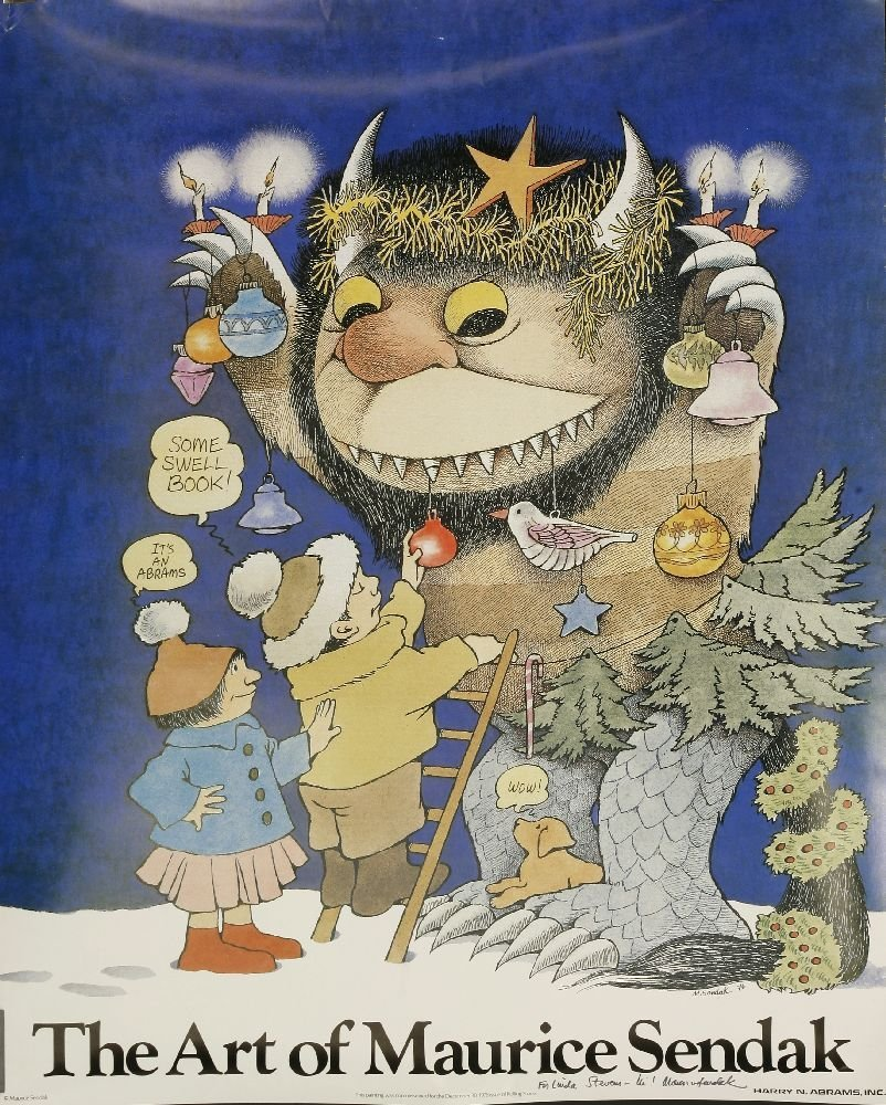 MAURICE SENDAK, SIX POSTERS: 1.  The Art of Maurice - 2