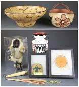 A group of 8 Native American objects