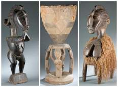3 Baga style objects. 20th century.
