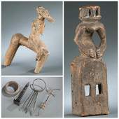 6 West African objects 20th century