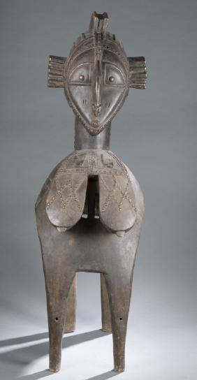 Baga style Nimba shoulder mask. 20th century.