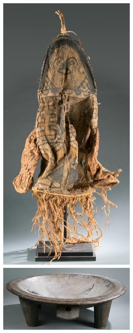 A Fiji style kava bowl & Amazon basin costume.