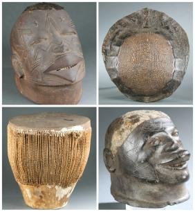 4 East African objects. 20th century.