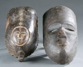 Makonde style body mask and face mask.