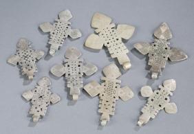 Ethiopian pectoral Coptic crosses.