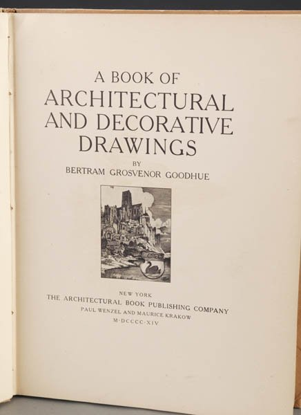 1005: Donohue. Architectural And Decorative Drawings
