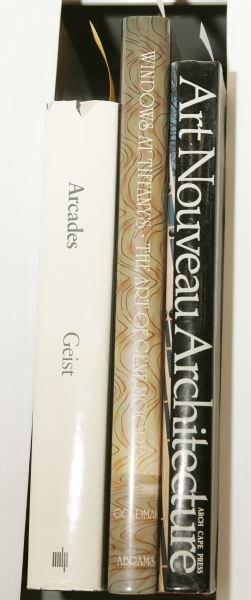 1006: [ARCHITECTURE/DECORATIVE ARTS]. 3 Titles.