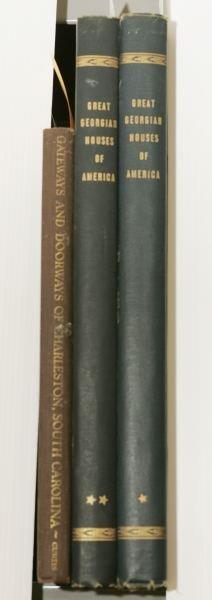 1008: [ARCHITECTURE]. 2 Titles (3 Vols).