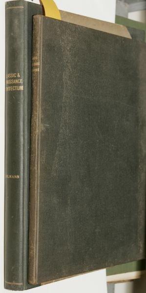 1009: [ARCHITECTURE]. 2 Titles. Folio.