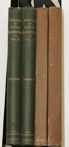 1010: [ARCHITECTURE]. 2 Titles. Folio.