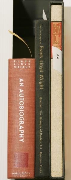 1011: [ARCHITECTURE]. 3 Titles. 4to/Folio.