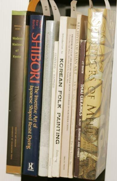 1022: [ASIAN ART]. 9 Titles.