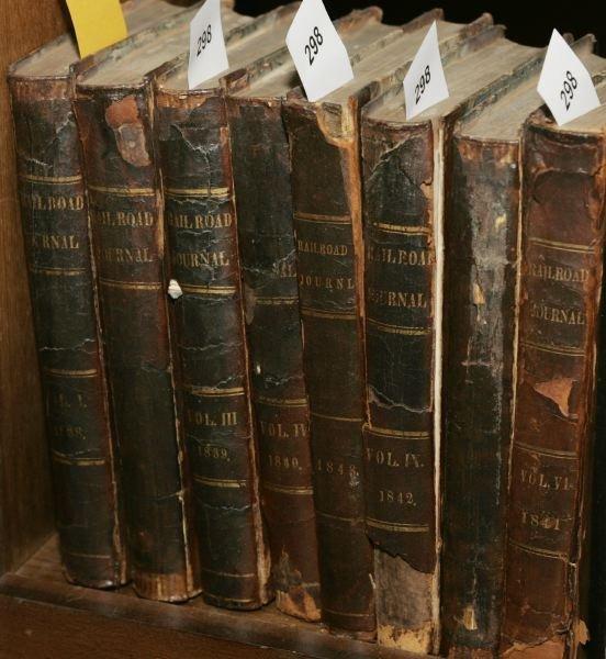 1298: Am. Railroad Journal, And Mechanics' Mag