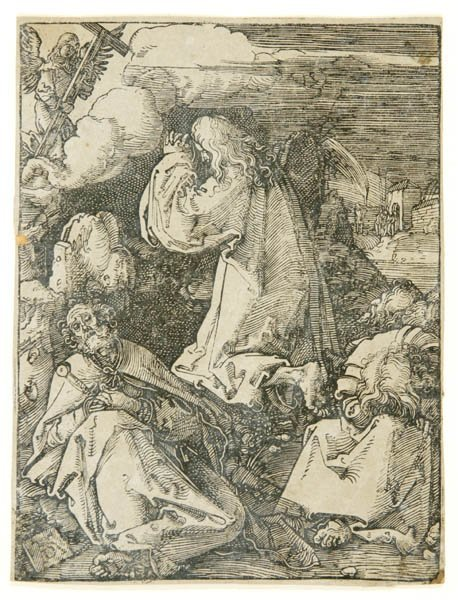 39: Albrecht Durer. Christ On The Mount Of Olives.