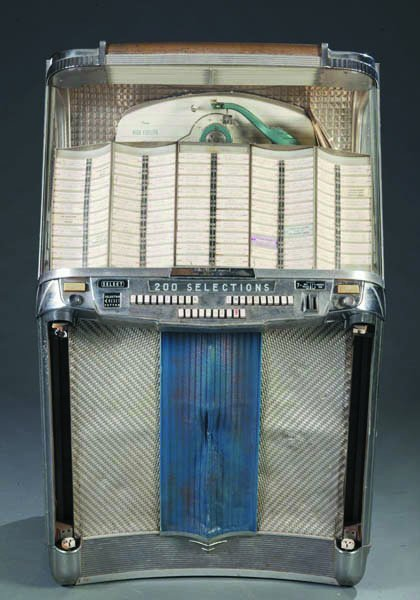 226: Wurlitzer 1956 Centennial Jukebox. Model 2000