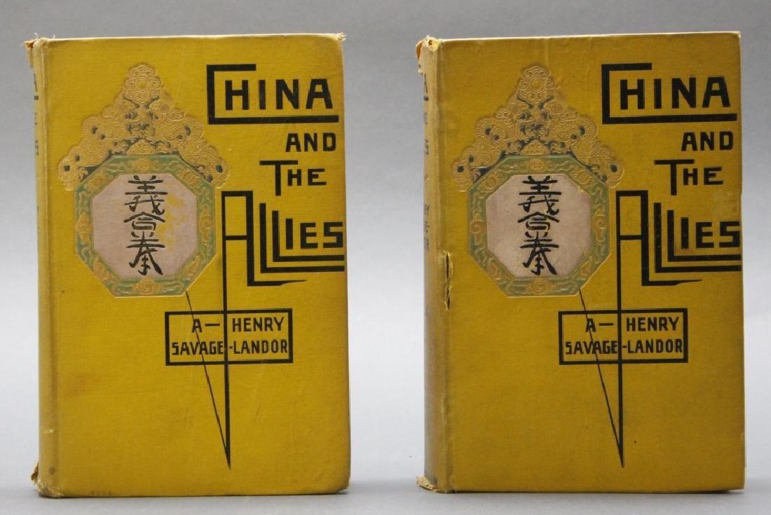 Savage-Landor. CHINA AND THE ALLIES. 2 Vols. 1901.