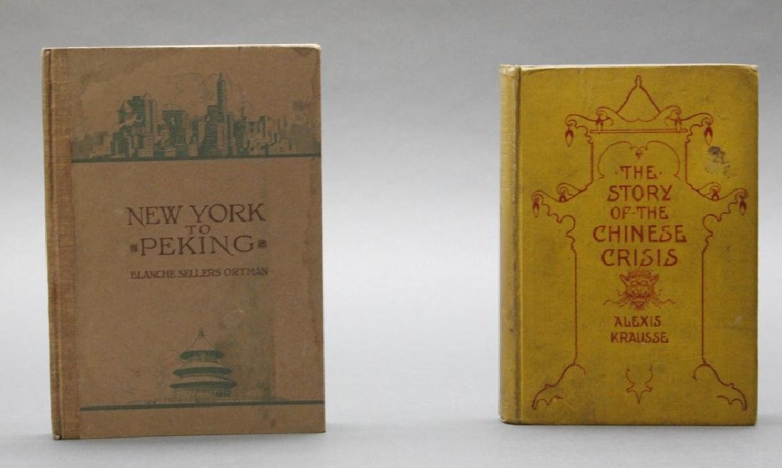 2 books incl: Krausse, CHINESE CRISIS, w/ ALS.