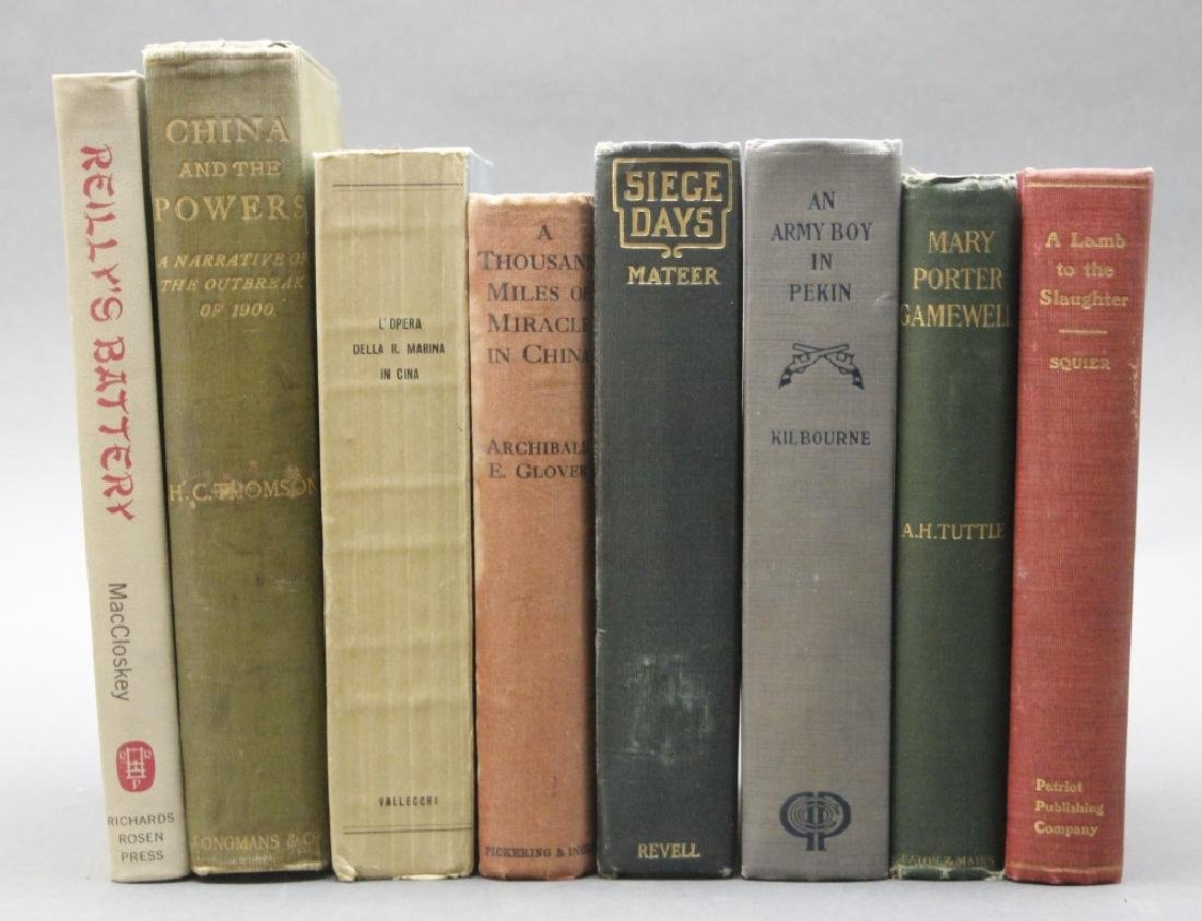8 Books incl: Thomson. CHINA AND THE POWERS. 1902.