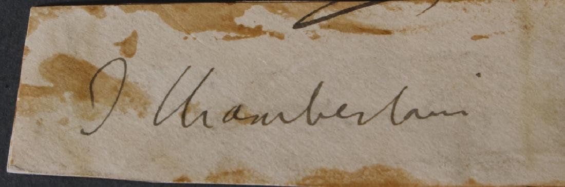 8 signed items: mostly British Generals, Boer Wars