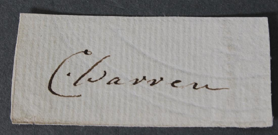 8 signed items, mostly 2nd Boer War Brit. Generals