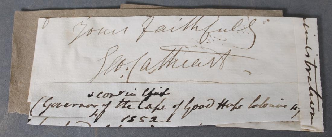 5 items: British military incl 1757 payment table.