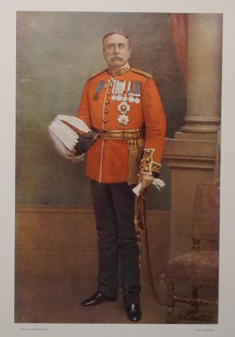10 signed items: British Army officers.