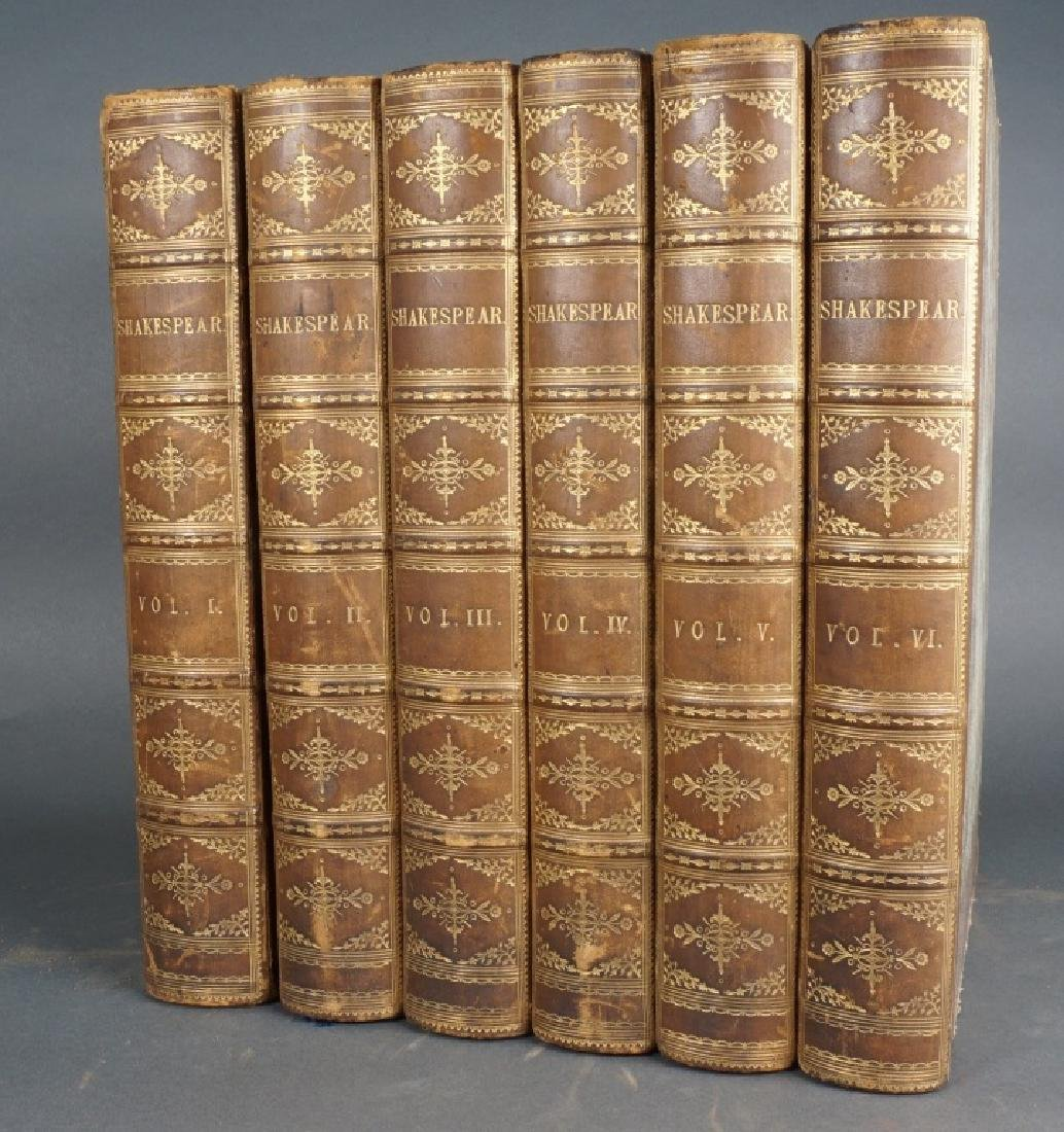 THE WORKS OF WILLIAM SHAKEPEAR. 6 Vols 1771-1770.